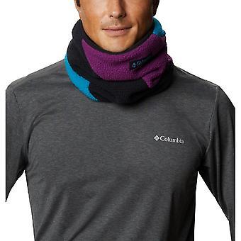 Columbia Sportswear Fleece Gaiter - Black / Fjord Blue / Plum