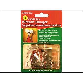 Noma Suction Cup Wreath Hanger 31059