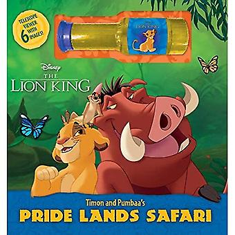 Disney el Rey León Timón y Pumbaa's Pride Lands Safari [Libro de la Junta]