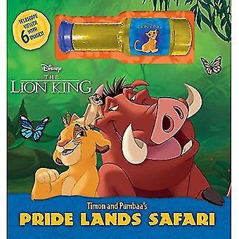 Disney the Lion King Timon� and Pumbaa's Pride Lands Safari [Board book]