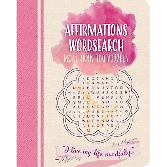 Affirmations Wordsearch: More than 100 puzzles (Colour Cloud Puzzles)