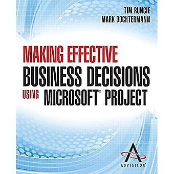 Prendre des décisions d'affaires efficaces à l'aide du projet Microsoft