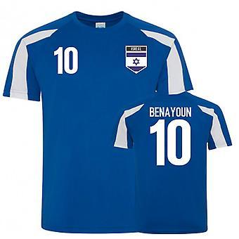 Israel Sports Training Jersey (Benayoun 10)