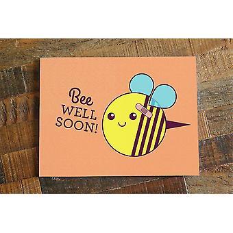 Get Well Soon Card Bee Well Soon