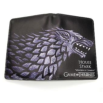 PU leather Coin Purse Cartoon anime wallet - Game of Thrones #444
