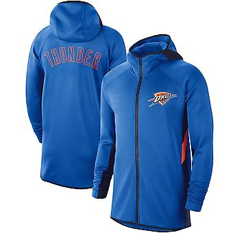 Oklahoma City Thunder Showtime Therma Flex Performance Full Hoodie Top WY143