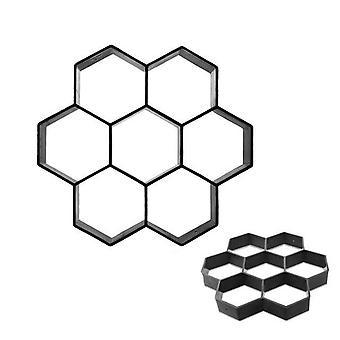 Diy- قالب بلاستيكي لرصف يدويا الطوب الاسمنت