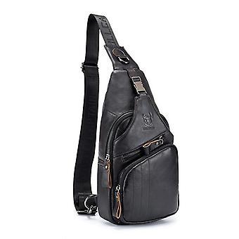 Genuine Leather, Messenger, Casual & Crossbody, Shoulder Bag's ( (black)