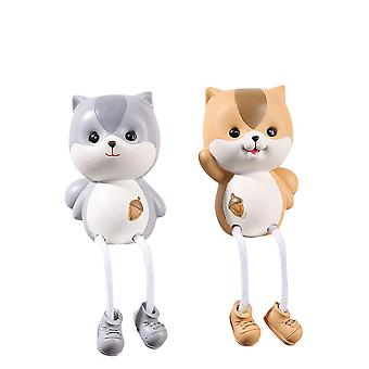 Cute Cartoon Squirrel Shape Hanging Feet Doll