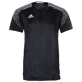 Adidas Kaleci Jersey Mens Futbol Tişört Siyah AA0410