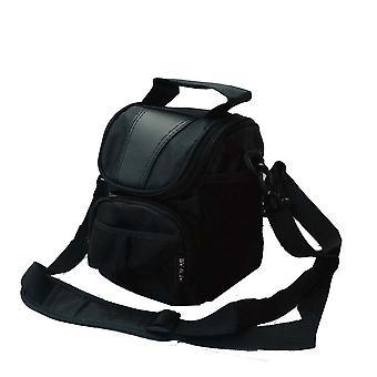 Bv & jo waterproof black camera case compatible with canon sx540,sx430,sx420 sx50,g7x,g9x, eos m3 m5