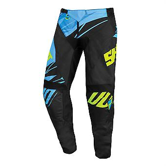 2020 Shot Devo MX Pants Adult - Ventury Cyan Blue Neon Yellow