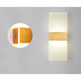 Mini led pitkä akryyli seinävalaisin vuodevaatteet, olohuone