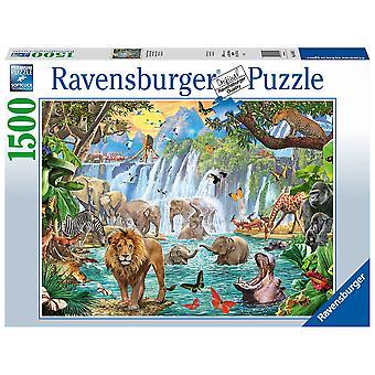 Ravensburger Legpuzzel Waterval Safari 1500 stuks