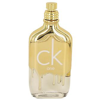 Ck One Gold Eau De Toilette Spray (Unisex Tester) Van Calvin Klein 3.4 oz Eau De Toilette Spray