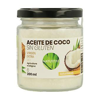 Gluten Free Organic Coconut Oil 200 ml of oil