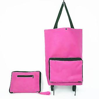 Folding Shopping Bag Shopping Buy Food Trolley Bag on Wheels Bag Buy Vegetables Shopping Organizer Portable Bag