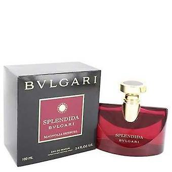 Bvlgari Splendida Magnolia Sensuel By Bvlgari Eau De Parfum Спрей 3.4 Oz (женщины) V728-548932
