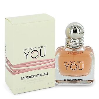 In Love With You Eau De Parfum Spray par Giorgio Armani 1 oz Eau De Parfum Spray