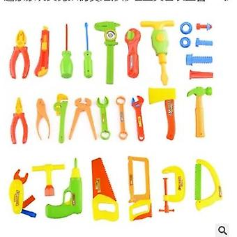 34pcs/set Brinquedo de Motosserra fantasia de festa de fantasia de plástico