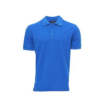 Lacivert düz polo yaka t-shirt