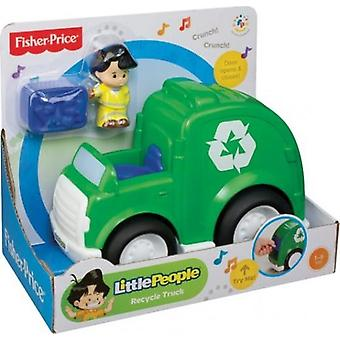 Camion de recyclage fisher-price