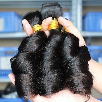 10a Luokan Brasilia 1/3/4 Niput Funmi Curl 100% Jalostamaton Neitsyt