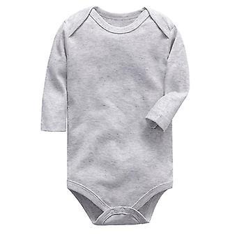 Volle Ärmel, süße Baumwolle Strampler/Bodys für Neugeborene Babys (Set-2)