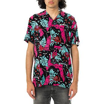 Chemise homme tommy jeans tjm miami print camp shirt dm0dm10164.00v