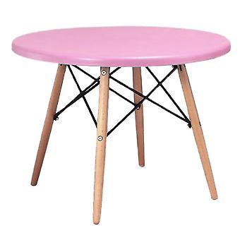 Child's Eiffel Round Table, Pink 60cm
