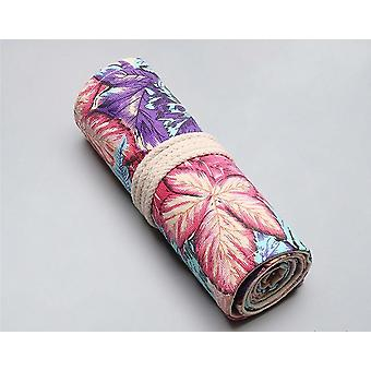 Holes Roll Colored Pencil Pouch