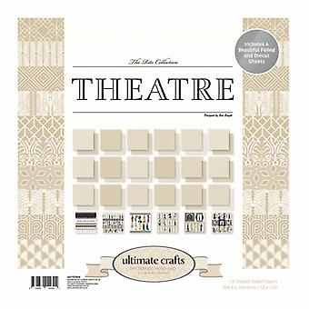 Ultimate Crafts - Theatre 12x12in Paper Pad