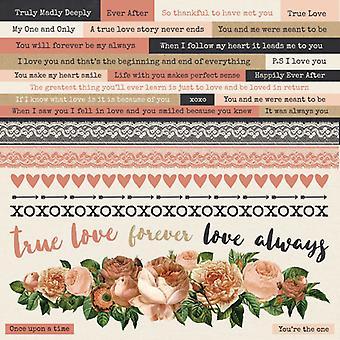 Kaisercraft - Always and Forever Sticker Sheet