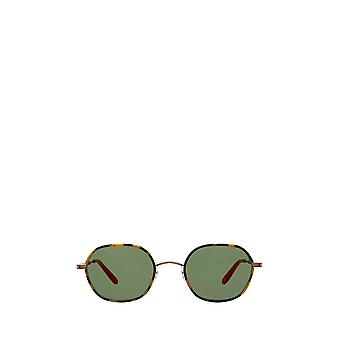 Garrett Leight NORFOLK SUN tokyo tortoise-matte gold unisex sunglasses