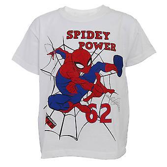 Spiderman Childrens Boys Spidey Power T-Shirt