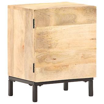 vidaXL table de chevet 40x30x51 cm mango bois massif