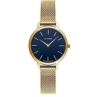 LLARSEN Analogueic Watch Quartz Woman with Stainless Steel Strap 146GDG3-MG12