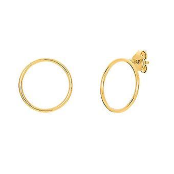 NOELANI Silver gold-breast earrings 925(2)