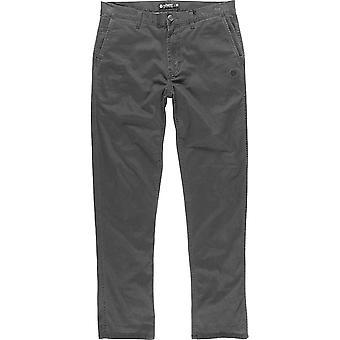 Element Howland Classic Chino Pantalons en charbon de bois Heather