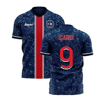 Paris 2020-2021 Home Concept Football Kit (Libero) (ICARDI 9)