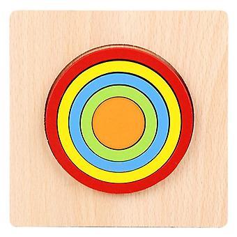 Puzzle Puzzle Przedszkole Nauczanie Wczesny prezent edukacyjny dla dzieci Wiek 1 2 3 4 5 6| Bloki