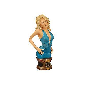 Cylon Number Six Blue Dress Polystone Bust from Battlestar Galactica