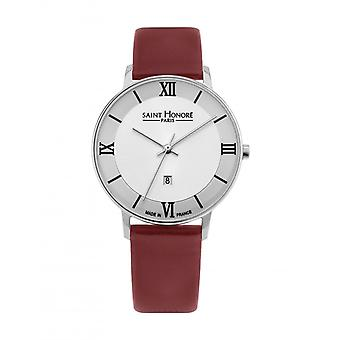 Women's Watch Saint Honor 7320121BR - Red Leather Strap