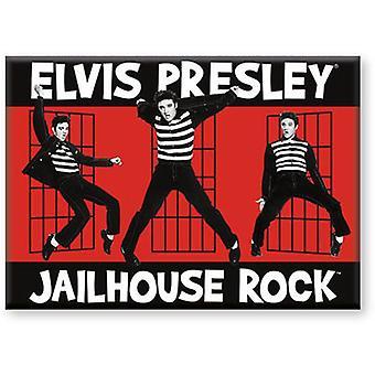 Elvis Jailhouse plattmagnet