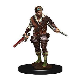 D&D-ikoner för Realms Premium Figures (W4) Human Rogue Male