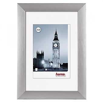 London Aluminium Frame Silver 40x50cm