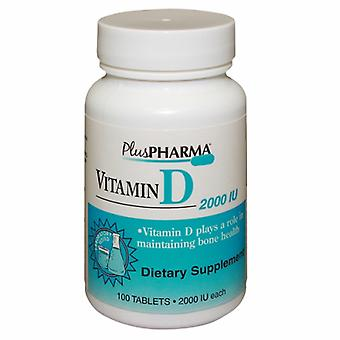 Plus Pharma Vitamin D3, 100 Tabs