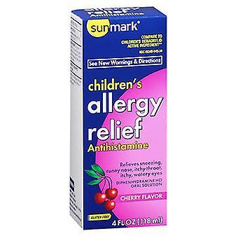 Sunmark Sunmark Allergy Relief Liquid, Cherry 4 oz