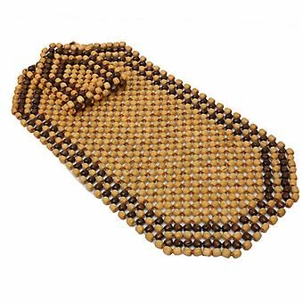 Wooden BeadFront Seat Cover Classic Beaded Design