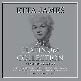 Etta James - Platinum Collection White Vinyl
